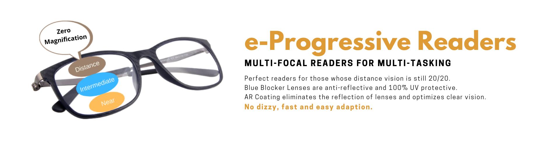 e-Progressive Readers 漸進老花眼鏡
